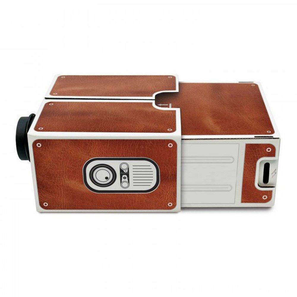 Amazon.com: MOSTOP DIY Cartón Smartphone Proyector Home ...