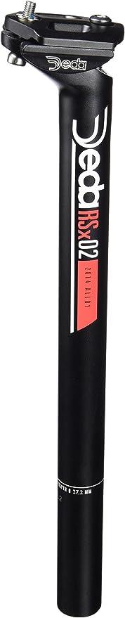 Deda RSX 01 Seat Post Black Seat Pin 350mm 27.2mm