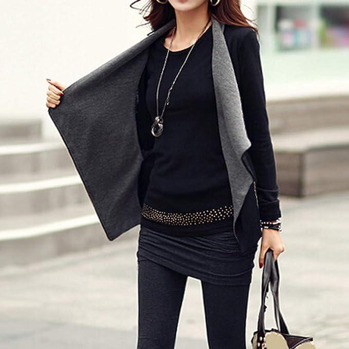 Amazon.com: Besde Womens Winter Casual Cardigan Thin Coat Solid Drape Front Open Zipper Tops Outcoats: Sports & Outdoors