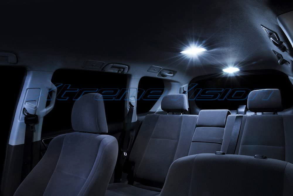 17 Pieces Installation Tool Cool White Interior LED Kit Xtremevision Interior LED for Mercedes-Benz GLK 2008-2015
