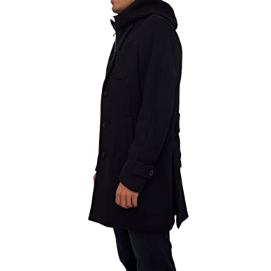 6ad081b533ae Emporio Armani manteau long homme en laine blu EU 50 (UK 40) 6Z1LN81NGGZ0920