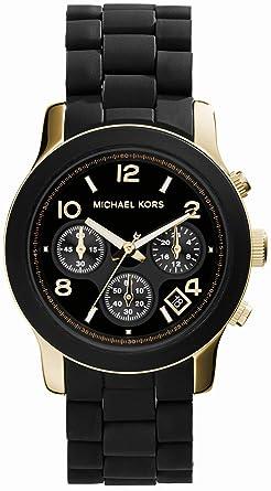 4c34c2600352 MICHAEL KORS マイケルコース MK5191 Parker クロノグラフ タートイズ ブラック クロノグラフ レディース腕時計 [並行