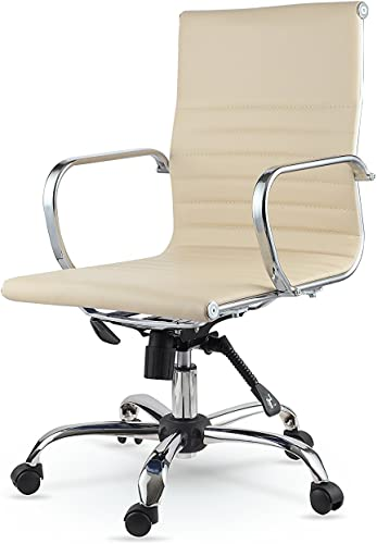 Winport Furniture Conference Task Chair, Cream,