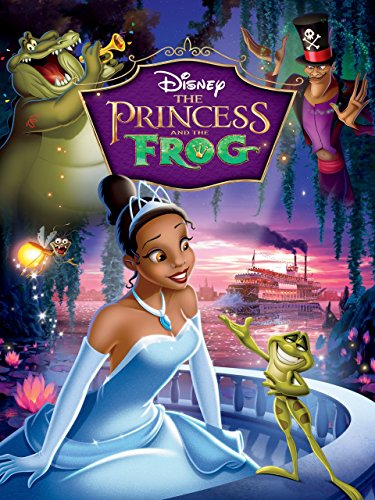 Disney Princesses Movies (Disney's The Princess and The Frog)