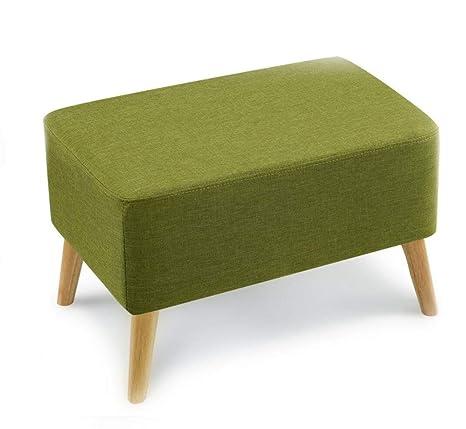 Amazon.com: Taburete de madera para sofá de madera maciza ...
