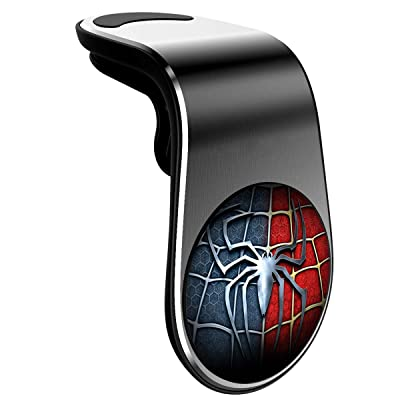Magnetic Phone Car Mount, Universal Air Vent Magnetic Cellphone Car Mount Phone Holder, 360°Rotation Phone Holder for Car Magnetic Compatible for All Smartphones -Spider-Man