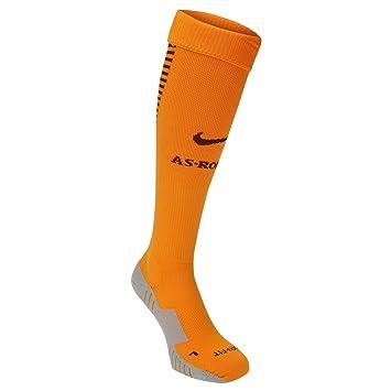 Nike AS Roma hogar calcetines 2016 2017 Kumquat/marrón de balón de ...