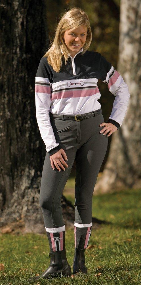 TuffRider Ladies Ribb Ultra Gripp Full Seat Breech JPC Equestrian Inc 10015-P