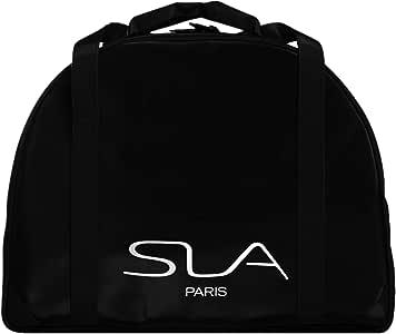 حقيبة مكياج من النايلون من اس ال ايه باريس برو، اسود، عبوة من 1