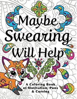 Amazon.com: Calm As F*ck - Adult Coloring Book: 30 Swear Words and ...