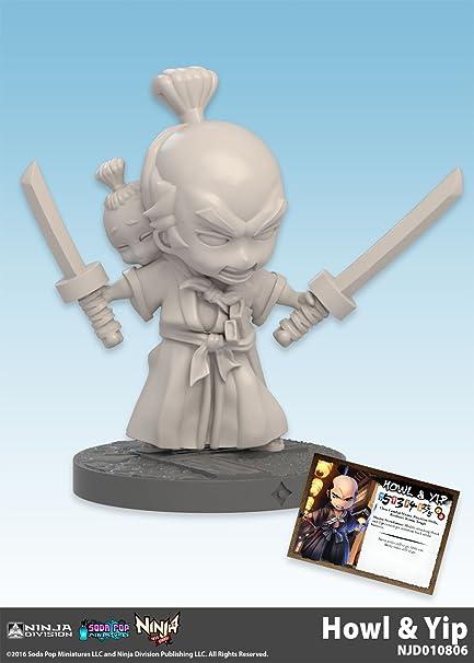 Amazon.com: Ninja Division NAS Howl & Yip Board Game: Toys ...