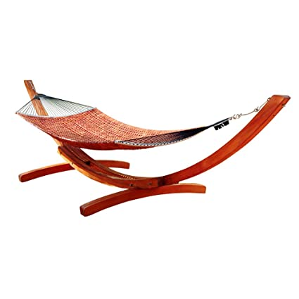 vifah v138g wood hammock stand in classic arc design amazon     vifah v138g wood hammock stand in classic arc design      rh   amazon