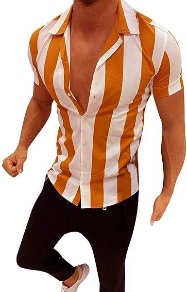 Briskorry Camisa de manga larga para hombre, corte entallado ...