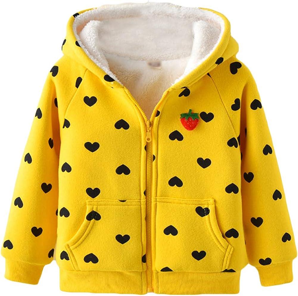 Happy childhood Baby Boys Girls Polar Fleece Warmth Printing Reversible Jacket Autumn Winter Outwear Lightweight Coat