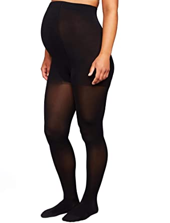 3e8a798d40 Amazon.com: A Pea in the Pod Insignia By Sigvaris Opaque Maternity Tights:  Clothing