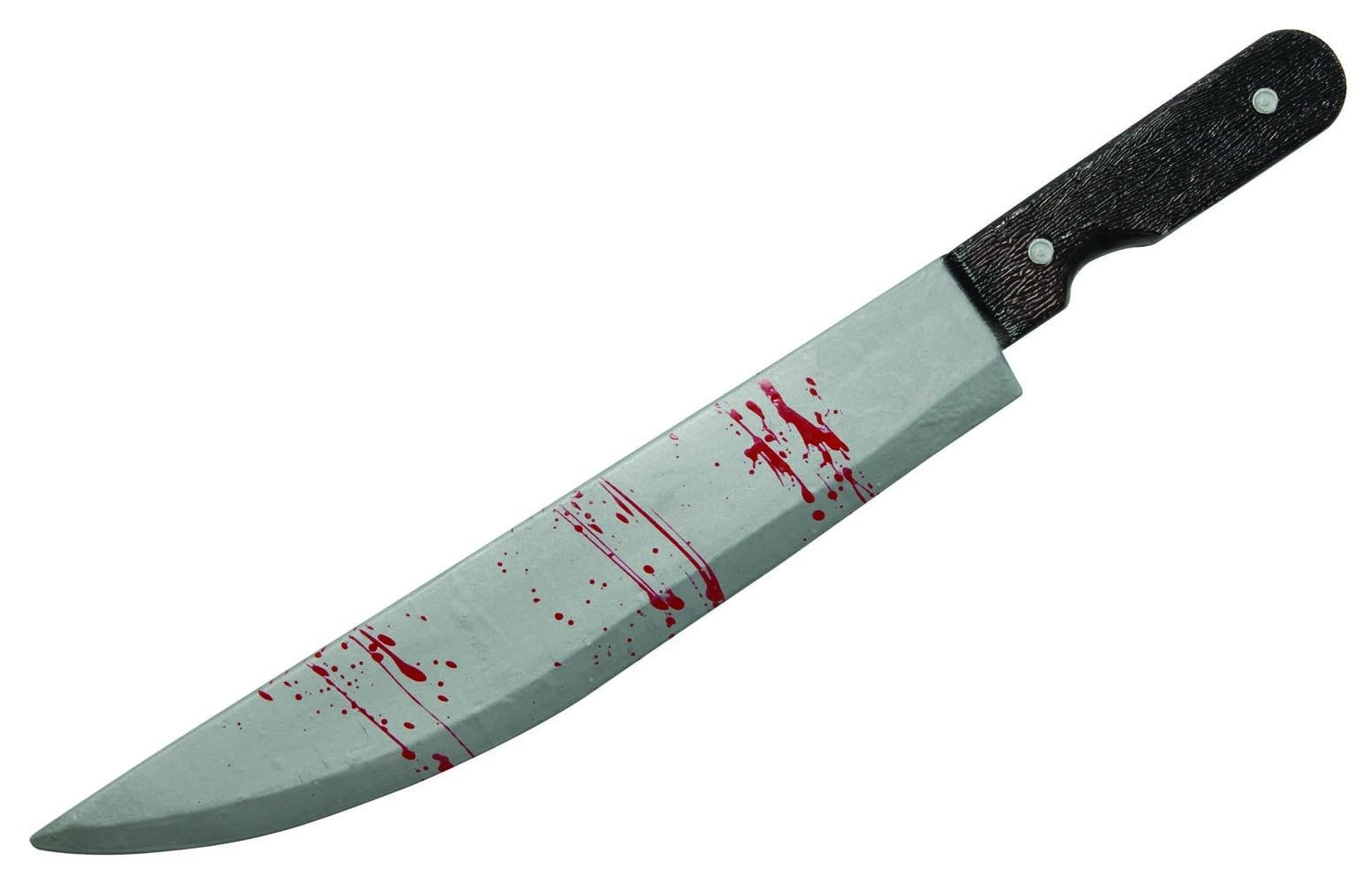 The Walking Dead Costume Accessory Bloody Cleaver, Standard Color, One Size