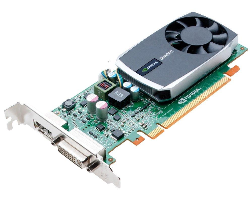 NVIDIA Quadro 600 by PNY 1GB DDR3 PCI Express Gen 2 x16 DVI-I DL and DisplayPort OpenGL, DirectX, CUDA, and OpenCL Professional Graphics Board, VCQ600-PB