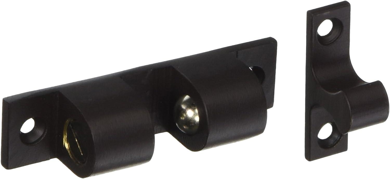 Home Improvement Deltana BTC30U10B Solid Brass 3-Inch x 0.75-Inch Ball Tension Catch Top Notch Distributors Inc.