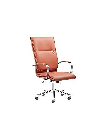 Designer Bürostühle designer bürostuhl rotbraun chefsessel höhenverstellbar 360