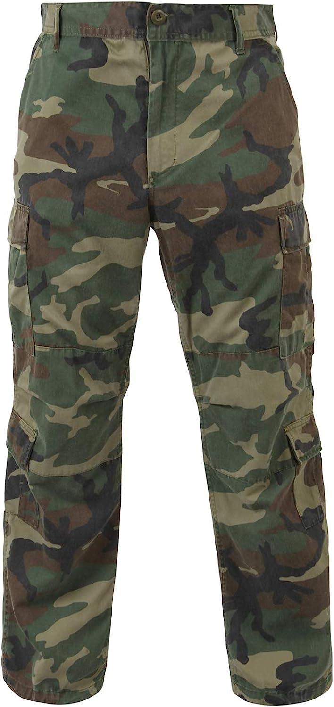 Rothco Vintage Camo Paratrooper Fatigue Pants | Cargo Pants: Clothing