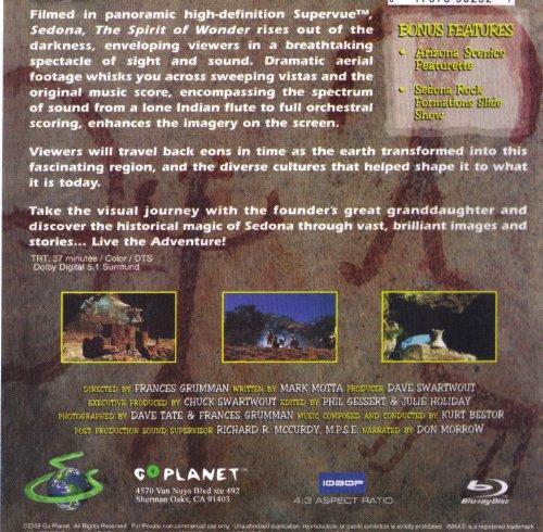 Sedona The Spirit Of Wonder(Two-Disc Blu Ray/Dvd Combo)