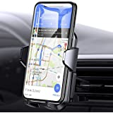 Vent Car Phone Mount with Support Food Pad for 99% Car Air Vent, 3 Points Stable Cell Phone Holder Car, Anwas Hands Free 360°