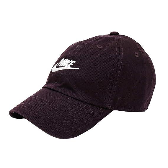 98fb43604e2a6 Nike Sportswear H86 Casquette Homme Bordeaux Réglable: Amazon.fr ...