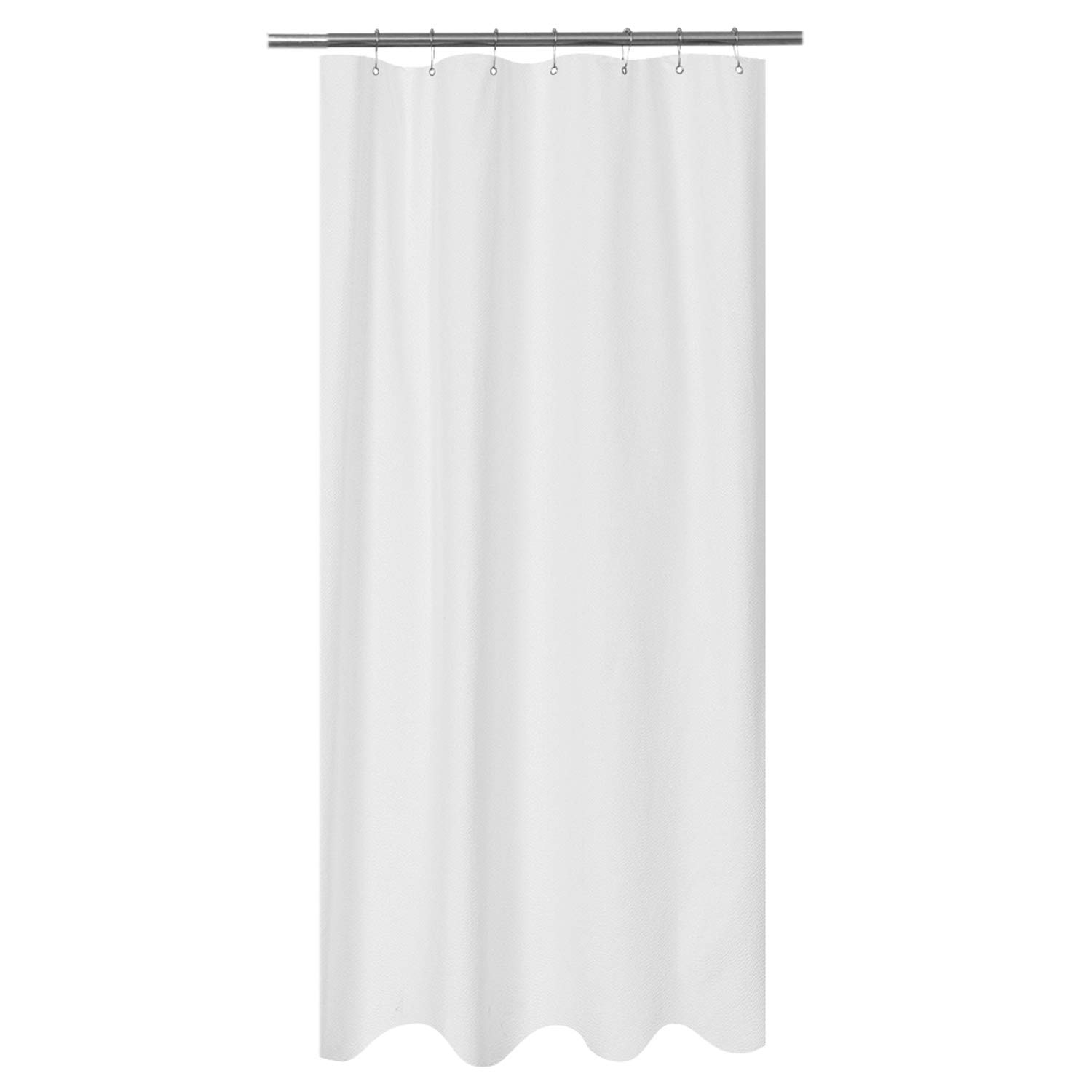 Amazon Mrs Awesome Embossed Microfiber Fabric Stall Shower Curtain Liner 36 X 72 Inch