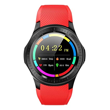 Amazon.com: LGYD Smartwatch DM368 Plus 1.3 inch IPS Screen ...