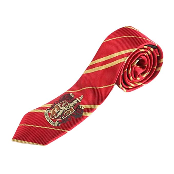Gryffindor Tie Harry Potter Deluxe Necktie Dress Up Halloween Costume Accessory