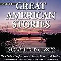 Great American Stories Audiobook by Mark Twain, Stephen Crane, Ambrose Bierce Narrated by Patrick Fraley, Patrick Hagan