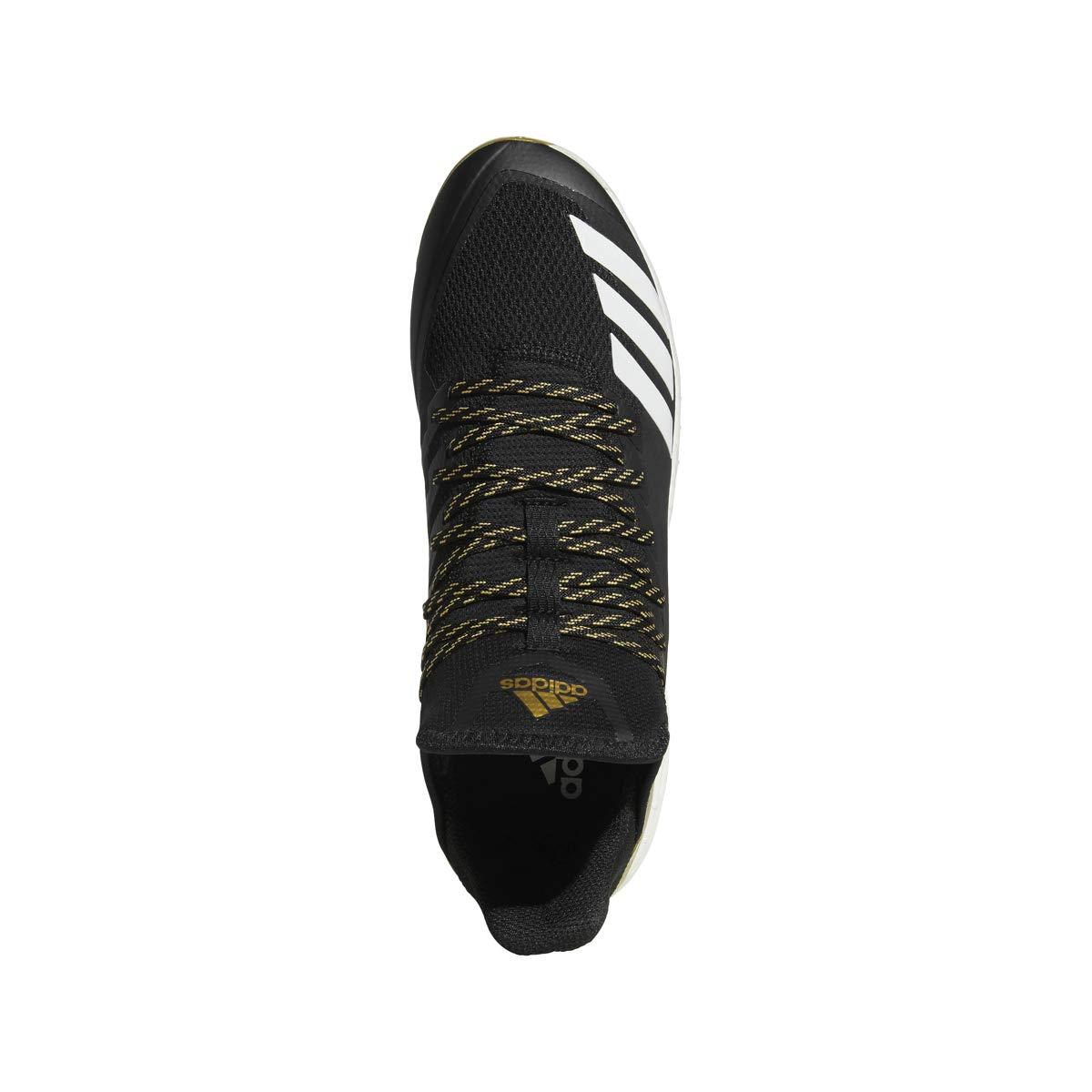 adidas Icon 4 Cleat - Men's Baseball 10 Black/White/Carbon by adidas (Image #2)