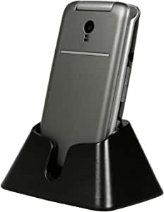 """artfone 3G Unlocked Flip Phone,Senior Phone with Charging Cradle and 2.4"""" Large Screen for Elderly, Unlocked Mobile Phone(Compatibility Nationwide on AT&T or Any Other Carrier That use AT&T Network)"""