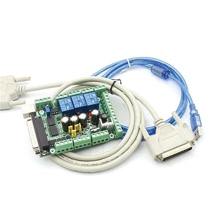5 Axis Mach3 Stepper Motor Controller Board Breakout Board interface Mach Controller Wiring Diagram on controller cable, controller computer diagram, controller battery, controller accessories, controller cabinet,