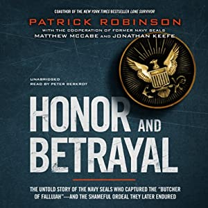 Honor and Betrayal Audiobook
