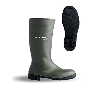 Dunlop unisex protomaster full safety wellington boot  MQIVCY101