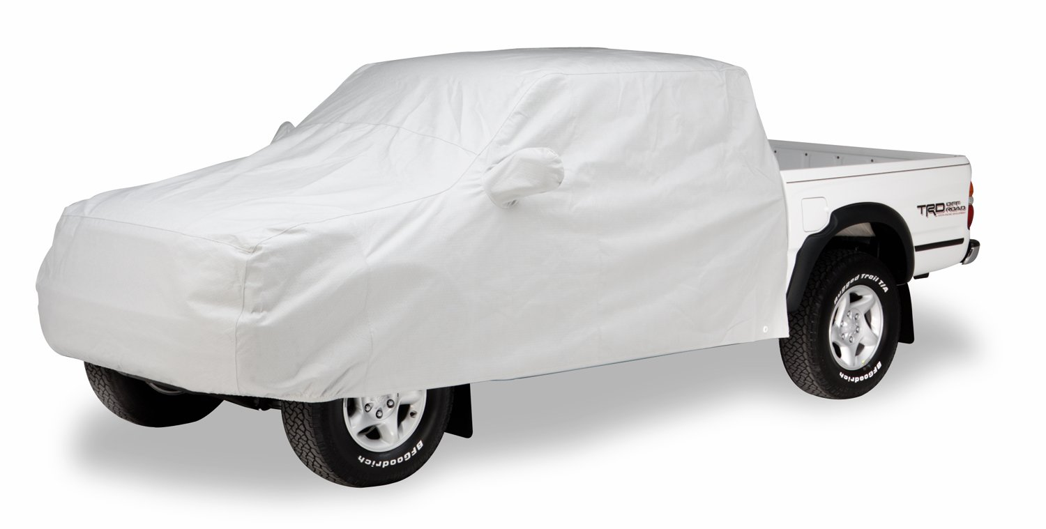 Bright Gray C16923PG Covercraft Custom Fit WeatherShield HP Series Pickup Cab Area Cover