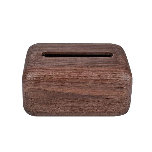 Caja de Pañuelos Sala de estar de madera maciza remoto Cajón de ...