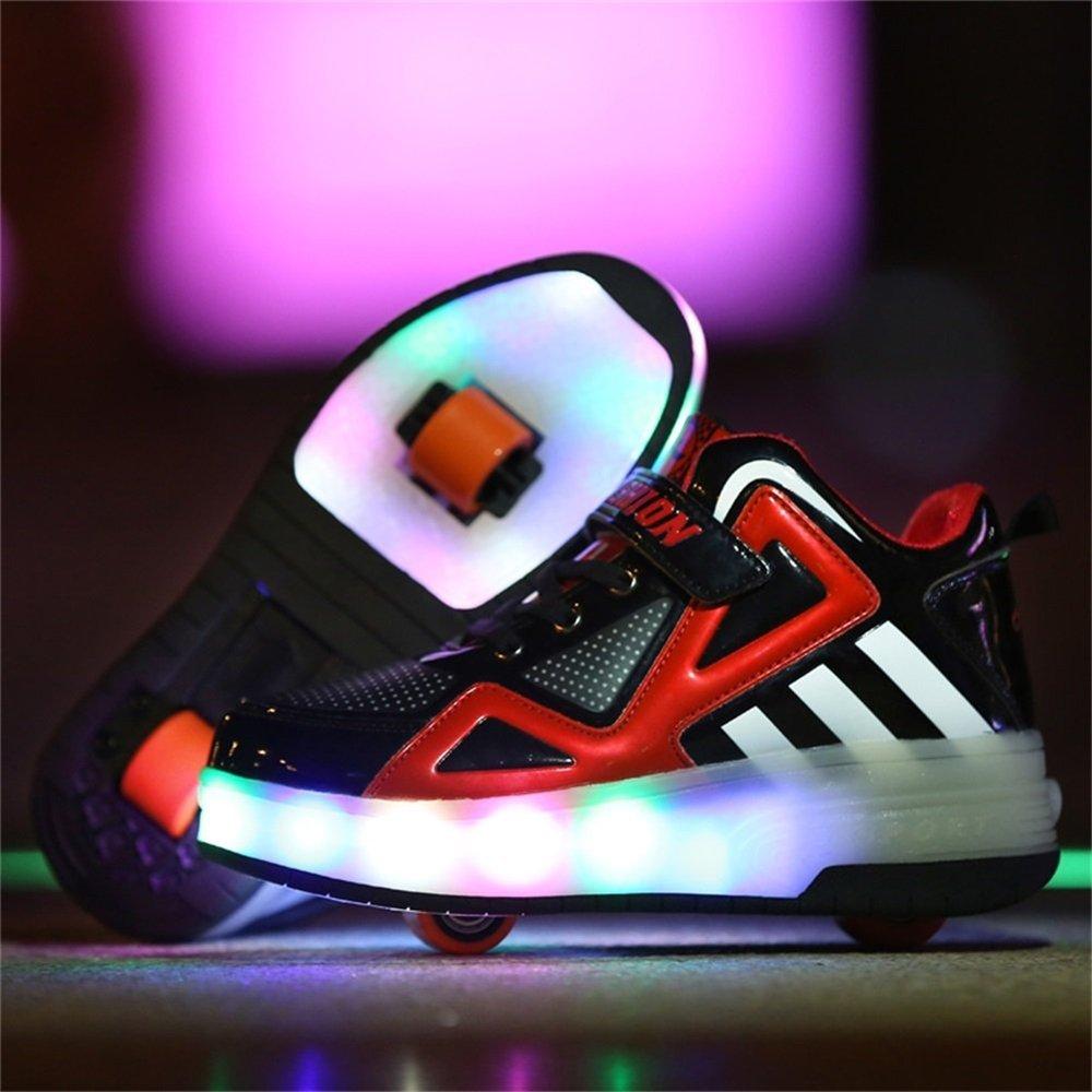 homme / femme evlyn enfants patiner conduit allume baskets souliers volant chaussures souliers baskets de danse pour les garçons filles attirantes et durable wa14951 directe des entreprises une conception 001c28