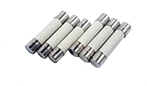 Zephyr Fast Acting Ceramic Cartridge Fuse (Pack of 6) 6x30mm 250V (12 Amp)