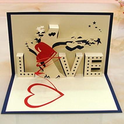 Handmade paper cut folding card birthday wedding card paper cut handmade paper cut folding card birthday wedding card paper cut valentines day 3d 3d m4hsunfo