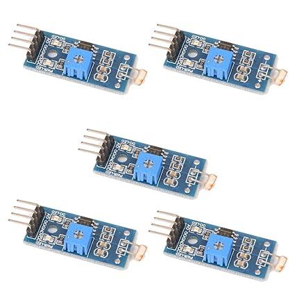 5PCS LM393 Sensor sensible sensible óptico de la sensibilidad del sensor de la