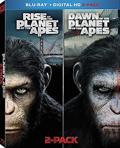 Rise of the Planet of the Apes / Dawn of the Planet of the Apes [Blu-ray] 2-pack (Planet Of Apes 2 Pack)