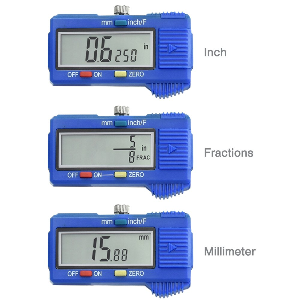 Neiko 01413A Electronic Digital Caliper with Extra Large LCD Screen, 8 x 10.9'', Clear by Neiko (Image #2)