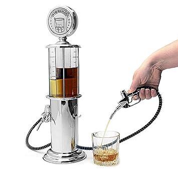 Decantador de gas de licor estilo estación para cerveza mini bar accesorios líquido beber separada herramientas