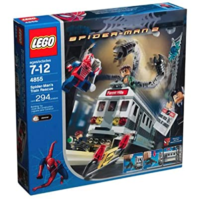 Lego Spider-Man 2: Spider-Man's Train Rescue: Toys & Games