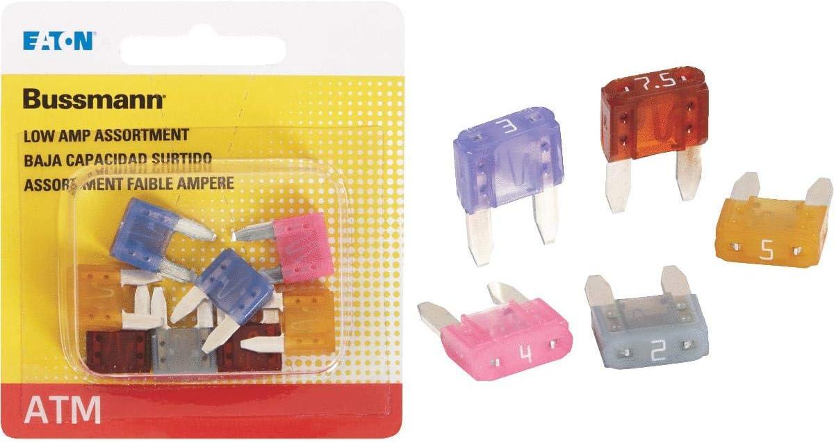 Pack of 5 Bussmann ATM-5 Fuse