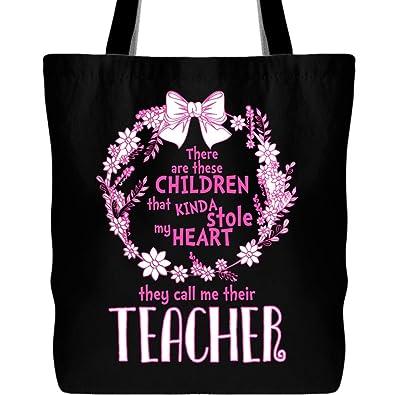 Amazon com: They Call Me Their Teacher Tote Bags, I'm A