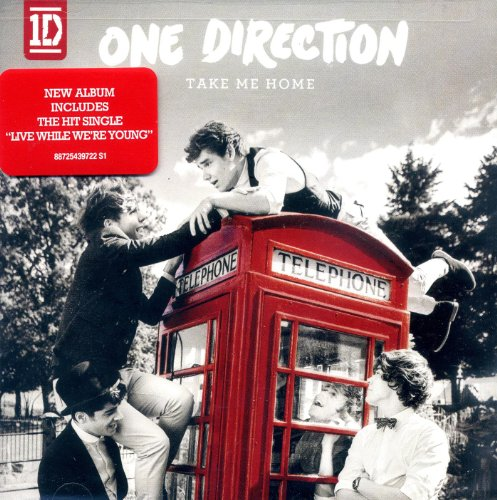 take me home cd one direction - 3