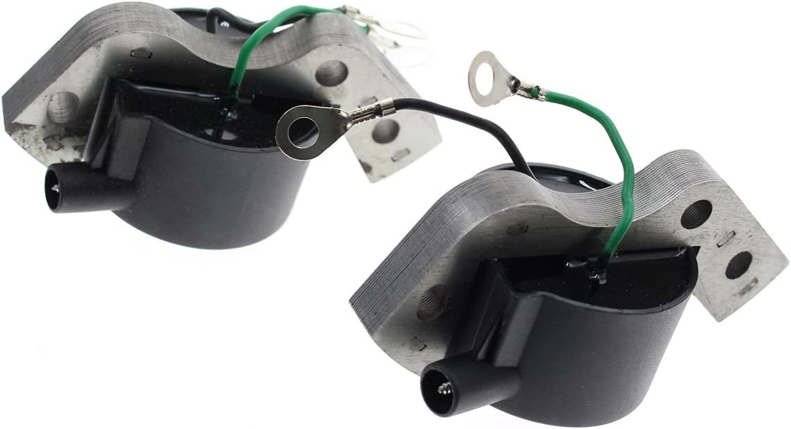 AUTOKAY 2 PCS New Igintion Coil for OMC Johnson Evinrude Outboard 582995 584477 580416